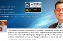 Joseph Puckett Facebook Cover
