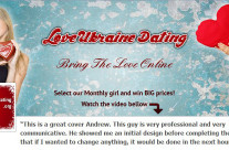 Love Ukraine Dating Facebook Cover