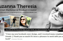 Suzanna Theresia Facebook Cover