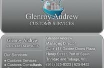 Glenroy Business Card